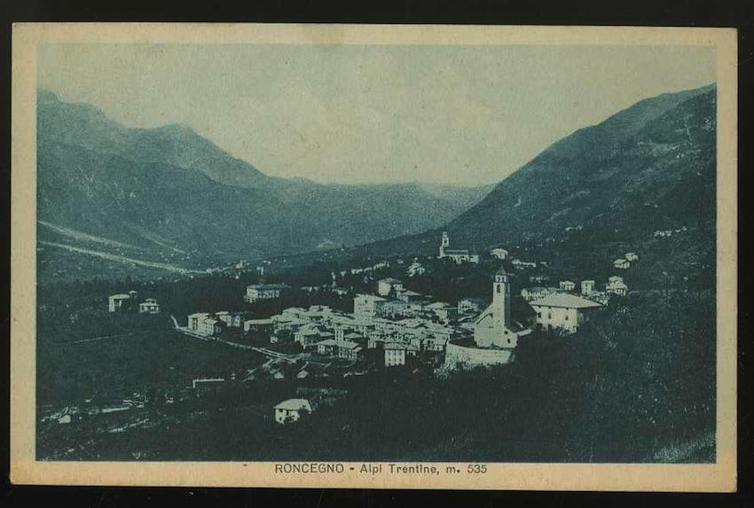 Roncegno. Alpi Trentine m. 535.