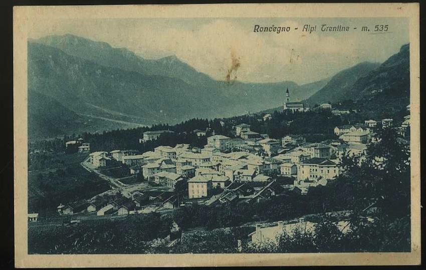 Roncegno. Alpi Trentino m. 535.