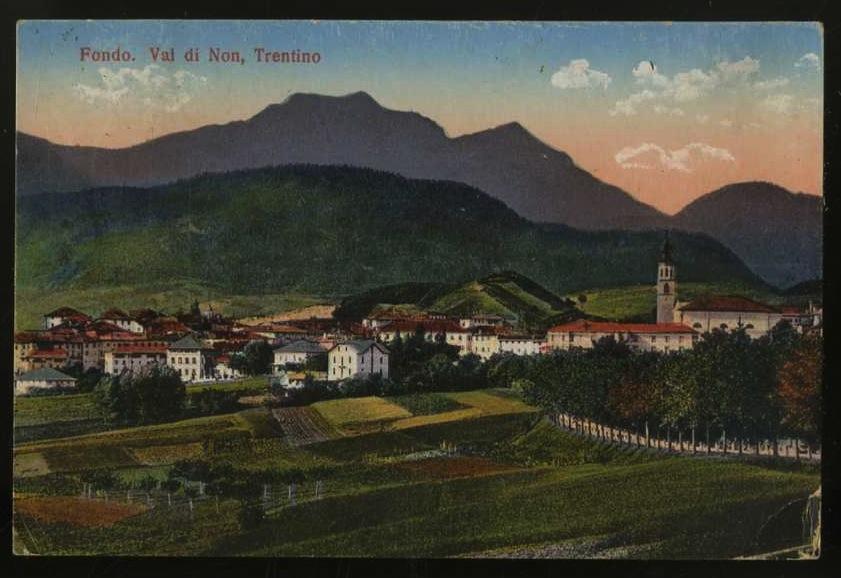 Fondo. Val di Non. Trentino.