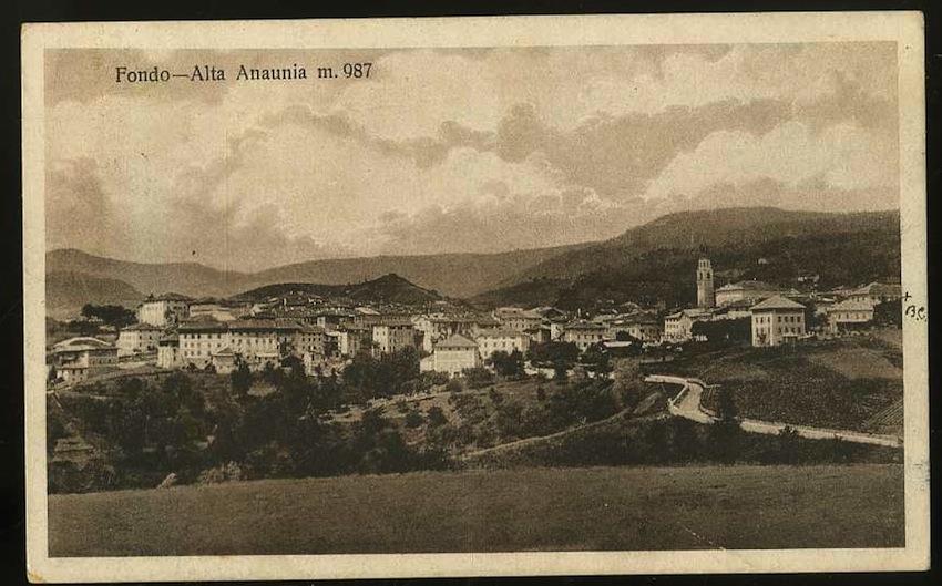 Fondo. Alta Anaunia m.987.