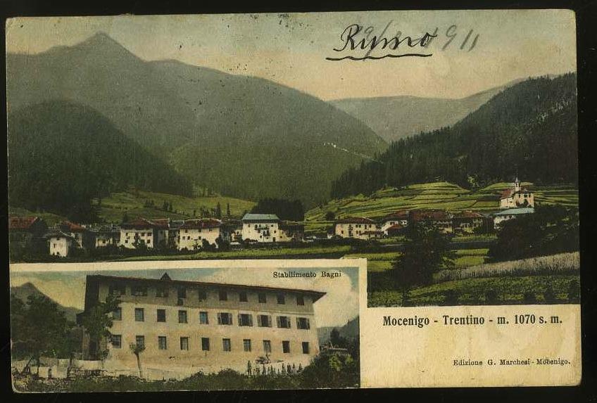 Mocenigo. Trentino m. 1070 s. m.
