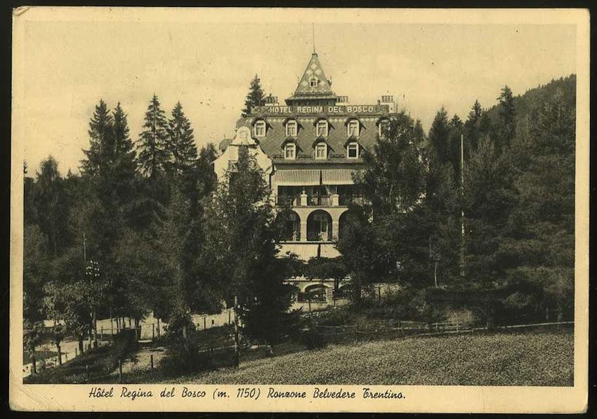 Hôtel Regina del Bosco (m. 1150). Ronzone Belvedere Trentino.