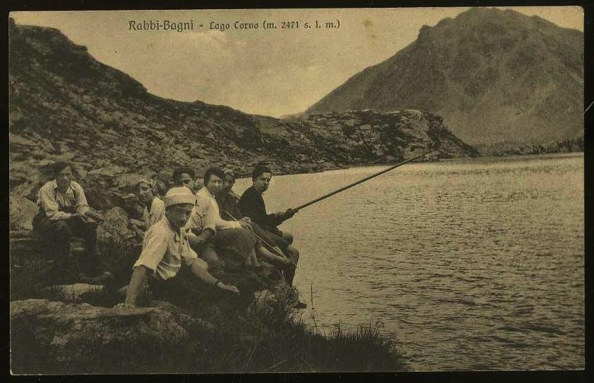 Rabbi-Bagni. Lago Corvo (m. 2471 s. l. m.)