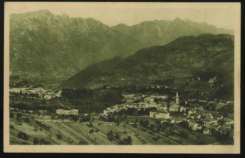 Brentonico (Trento m.700. Panorama).