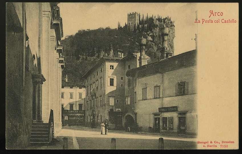 Arco. La Posta col Castello.