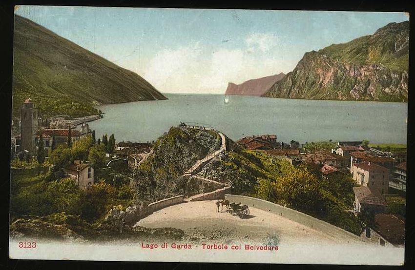 Lago di Garda. Torbole col Belvedere.