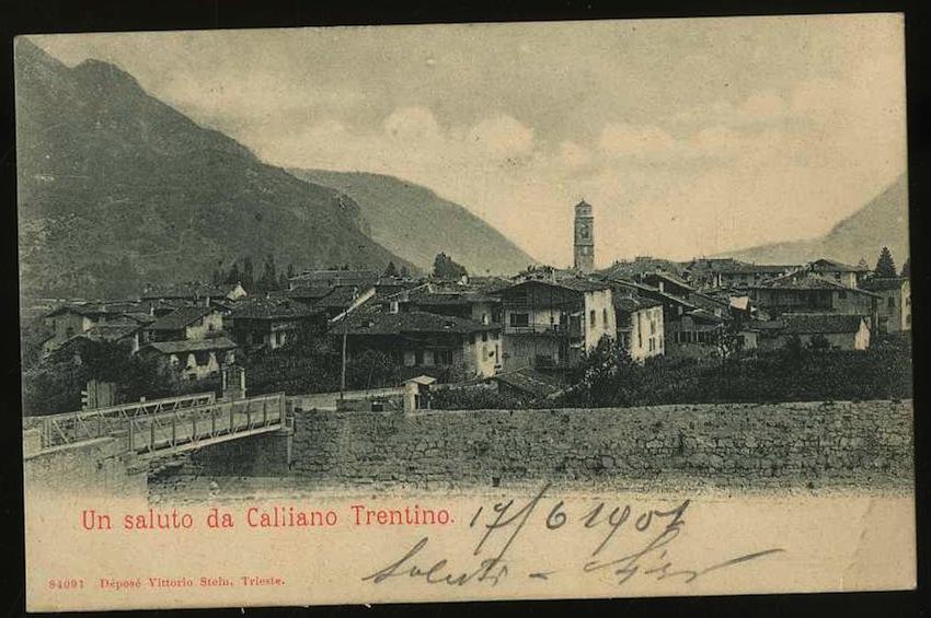 Un saluto da Calliano Trentino.