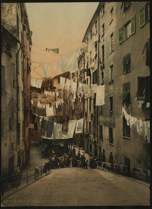 8548. P. Z. - Genova. Lavatojo pubblico a Sta. Brigida.