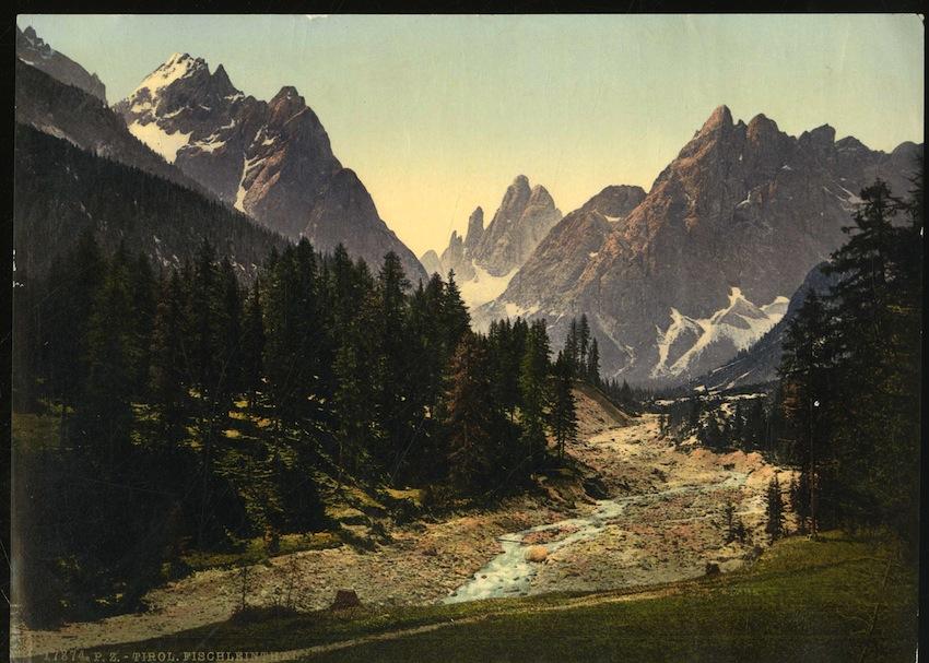 17874. P. Z. - Tirol. Fischleinthal.