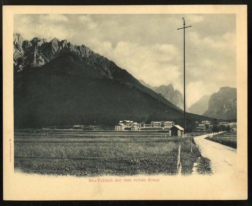 64. Neu-Toblach mit dem rothen Kreuz.