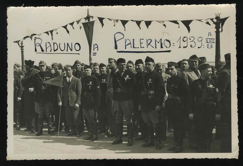 Raduno a Palermo del reggimento artiglieria Damiano Chiesa.