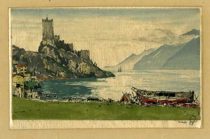 Malcesine - Gardasee - Malcesine - Lago di Garda.