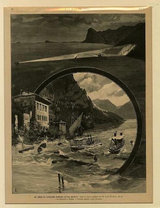 Die Schiffe der Italienischen Bollwache auf dem Gardasee.