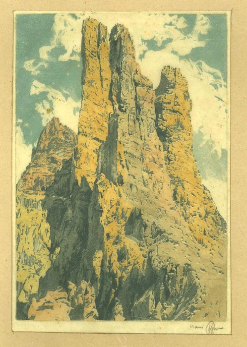 Torri del Vajolet - Dolomiti.