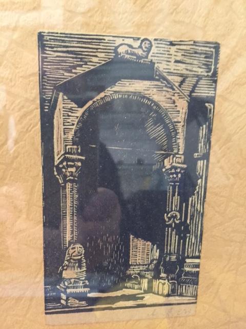 Porta del Duomo di San Vigilio di Trento.