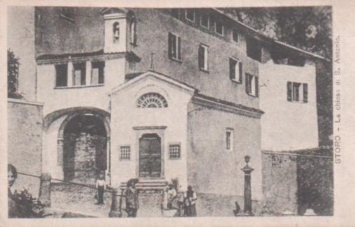 Storo. La Chiesa di S. Antonio.