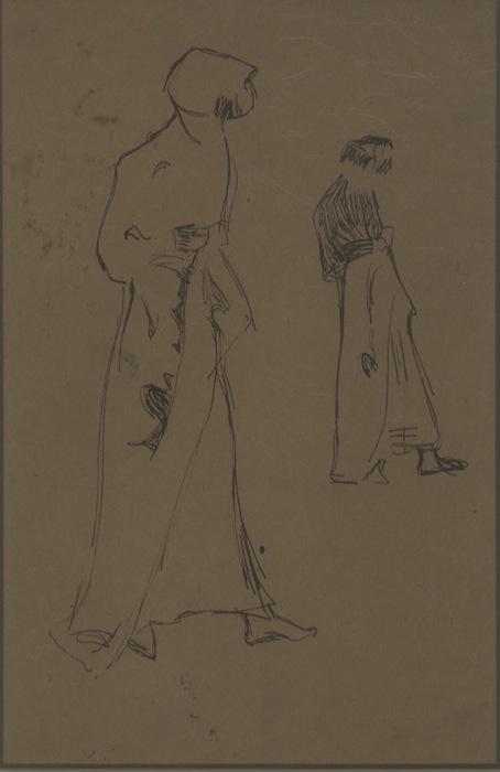 Due figure femminili.