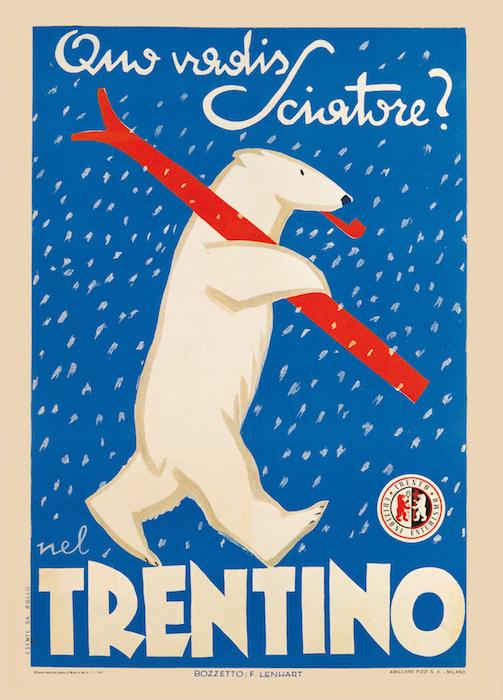 Quo vadis sciatore? Nel Trentino.