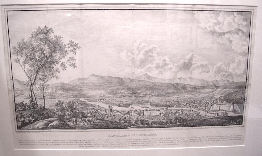 Panorama di Rovereto.