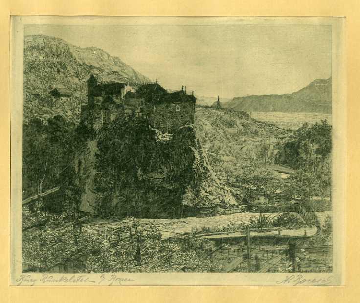 Burg Runkelstein g. Bozen.