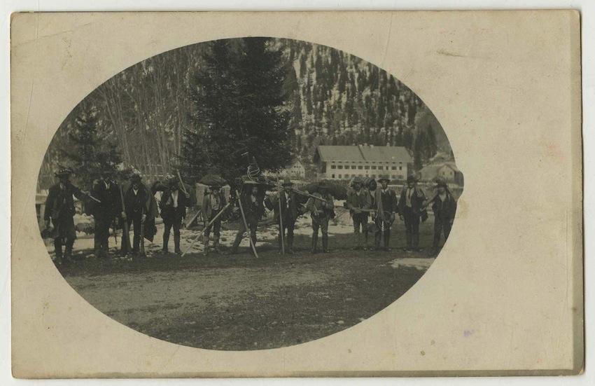 Alpinisti dell'Alto Adige.