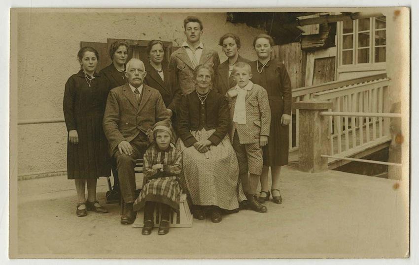 Ritratto di famiglia.