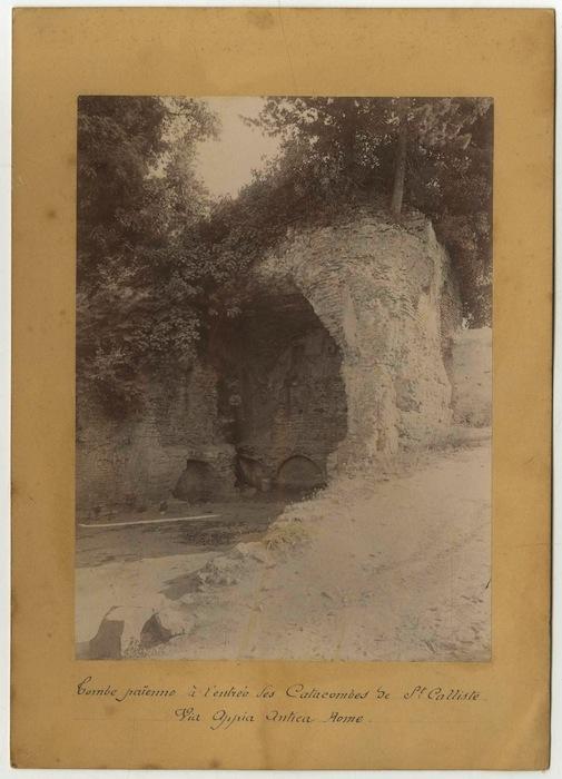 Catacombe di San Callisto, Roma.