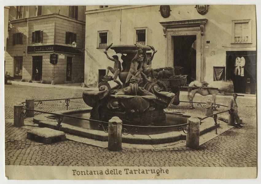 Fontana delle Tartarughe, Roma.