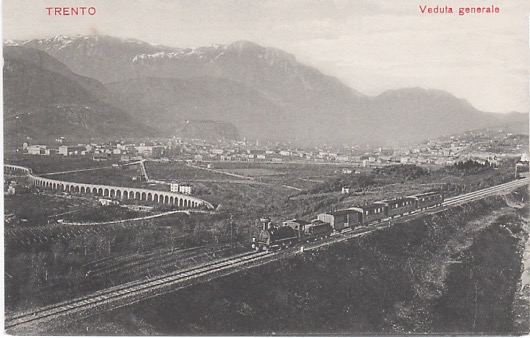 Trento: Veduta Generale.
