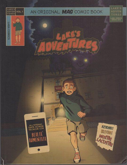 Lake's adventures: an original Mag comic book.