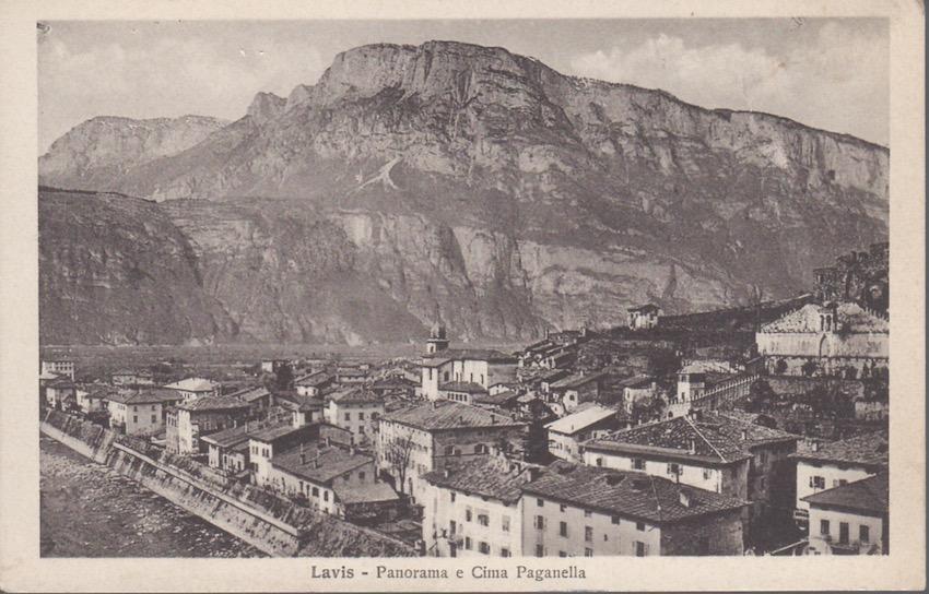 Lavis - Panorama e Cima Paganella.