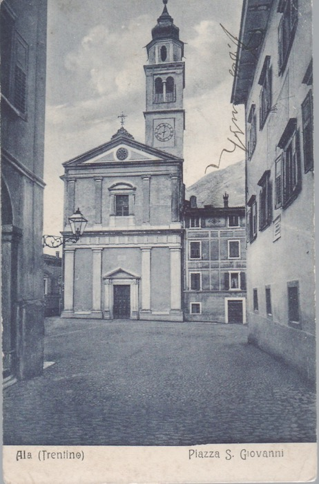 Ala (Trentino) - Piazza S. Giovanni.