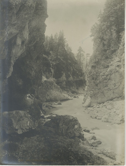 11457. Schlitzerschlucht bei Tarvis.