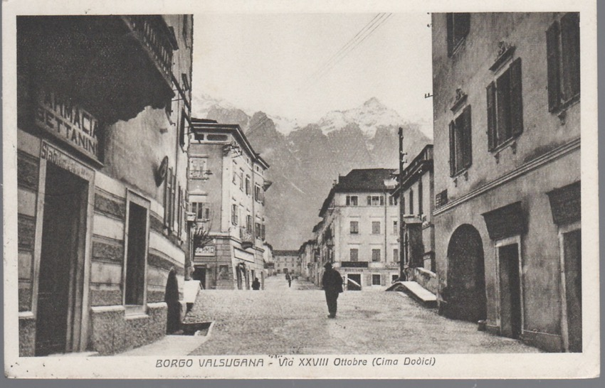 Borgo Valsugana - Via XXVIII Ottobre (Cima Dodici).