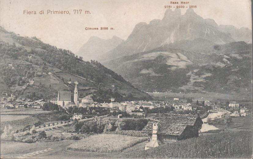 Fiera di Primiero, 717 m.