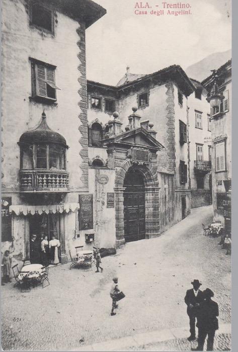 Ala - Trentino. Casa degli Angelini.