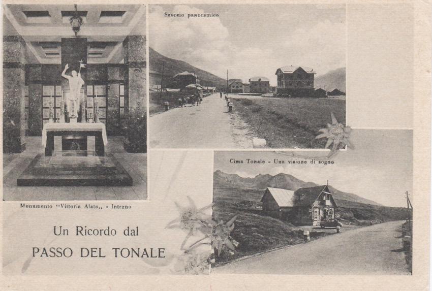 Un ricordo dal Passo del Tonale (m. 1884).