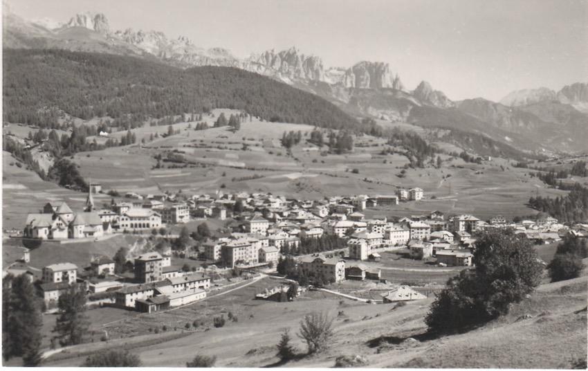 Val di Fiemme - Moena (1200) verso le Dolomiti di Fassa.