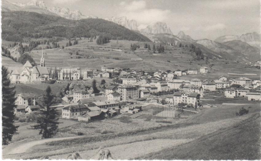 Moena m. 1200 - Panorama.