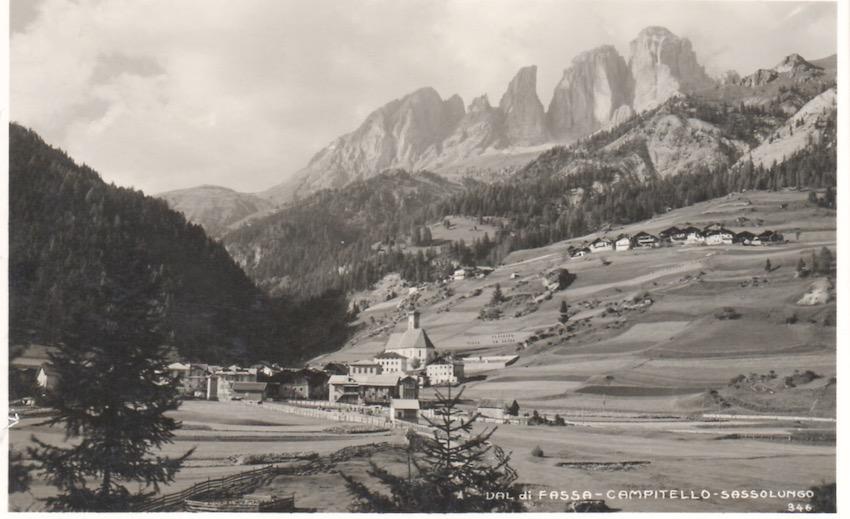 Val di Fassa - Campitello - Sassolungo.