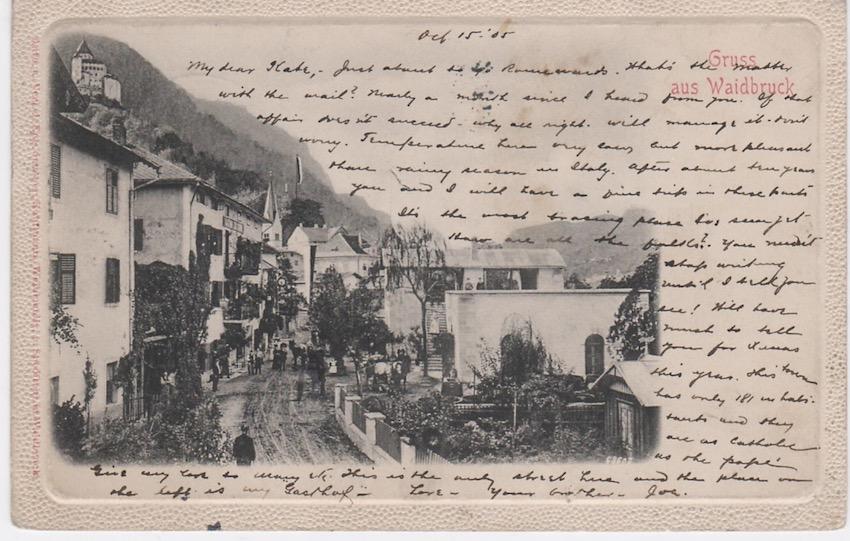 Pontegardena - Bolzano. Gruss aus Waidbruck