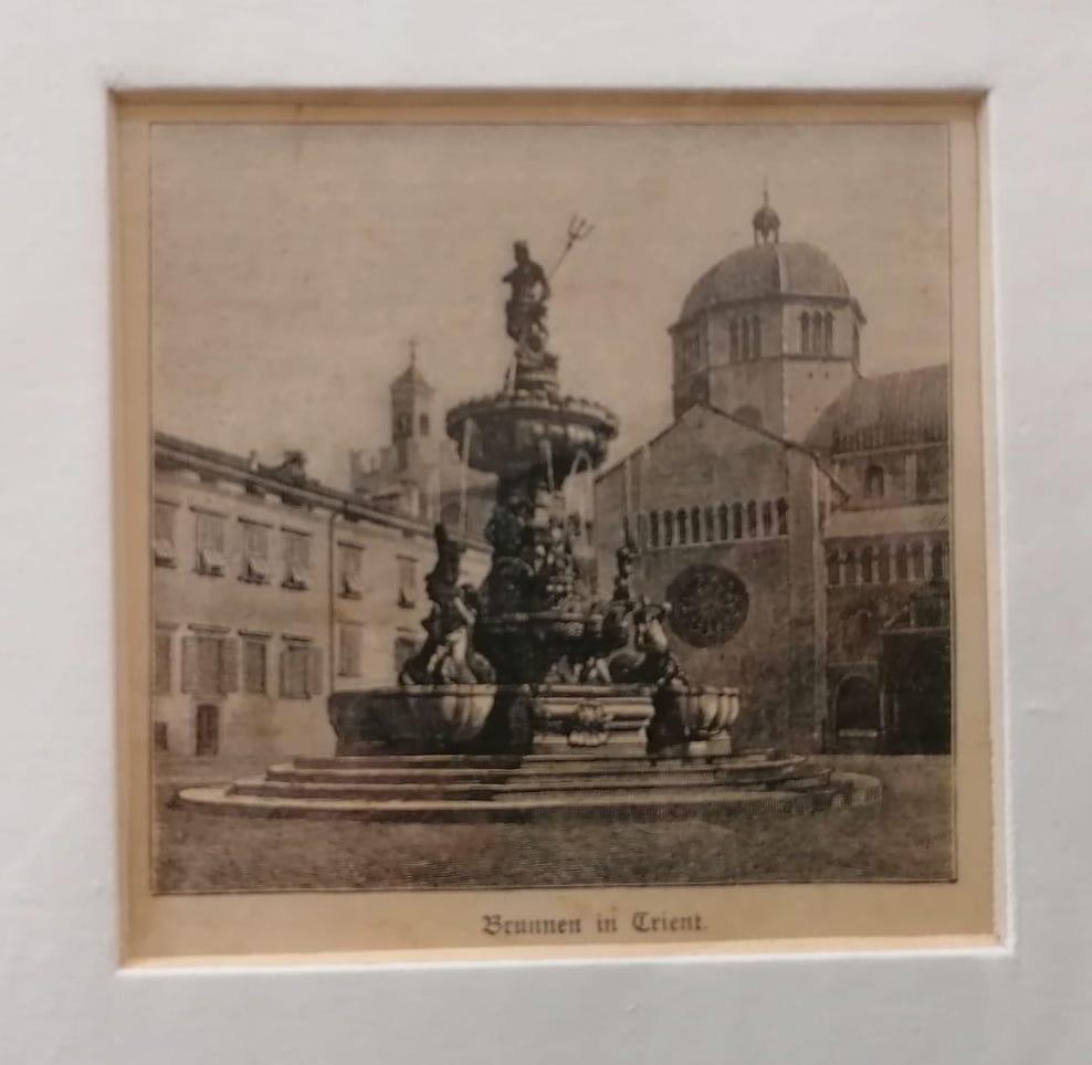 Brunnen in Trient.
