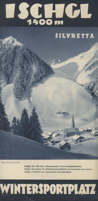 Wintersportplatz, Ischgl, Austria.