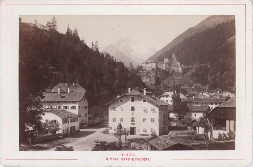 N. 2743 Tirol - Sand in Taufers.