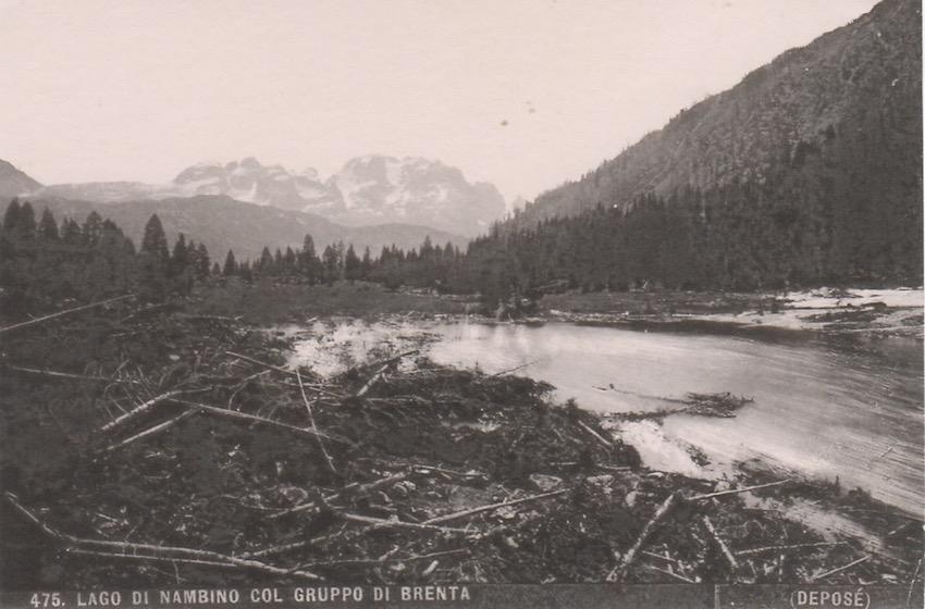 475. Lago di Nambino col Gruppo di Brenta.