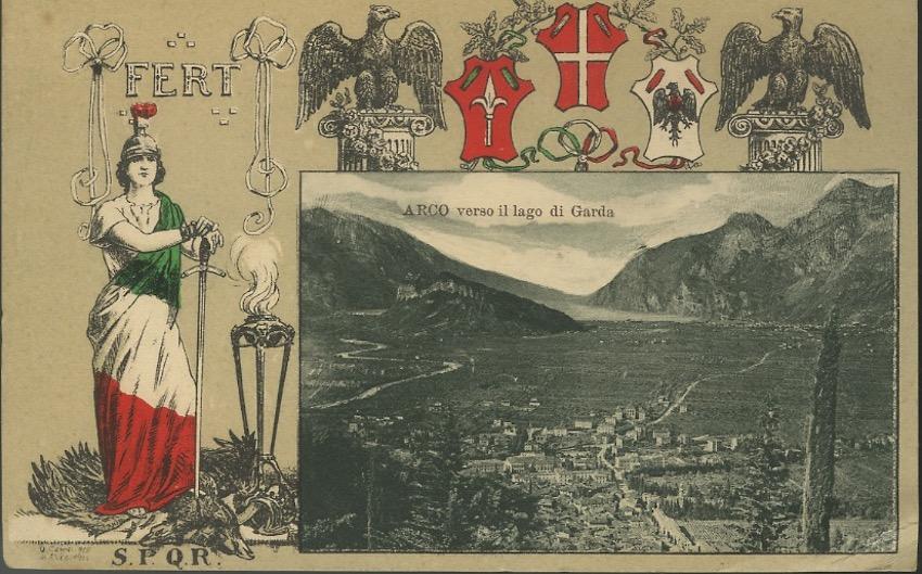 Arco verso il Lago di Garda.