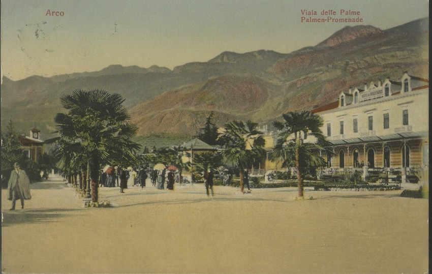 Arco - Viala delle Palme - Palmen Promenade.