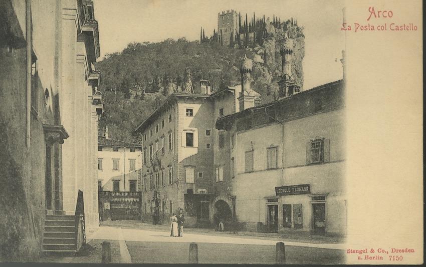 Arco - La posta col castello.