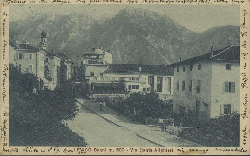 Levico, Via Dante Alighieri.