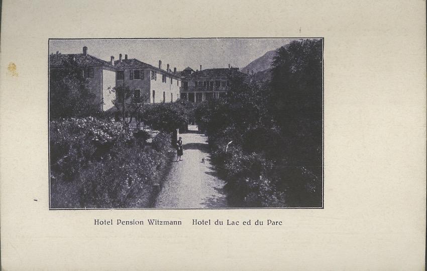 Riva del garda, Hotel Pension Witzmann.